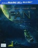Pan: 3D+2D: Steel Book (กล่องเหล็ก)-แพน (Dolby Atmos) (Blu